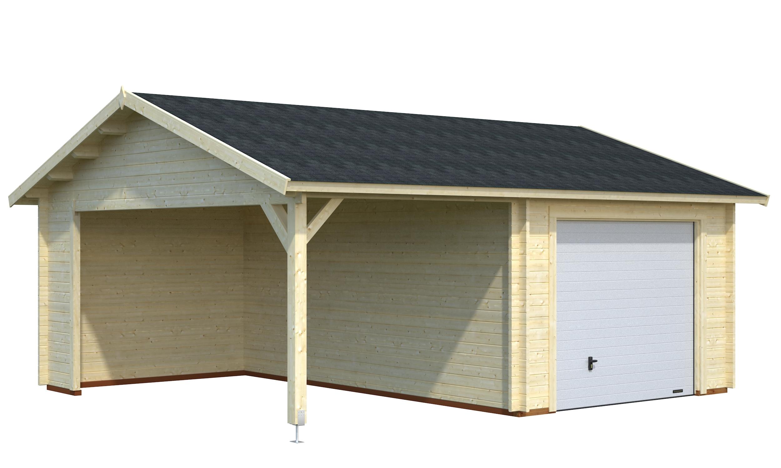 carport og garage i eet tilbud netop nu k b online. Black Bedroom Furniture Sets. Home Design Ideas