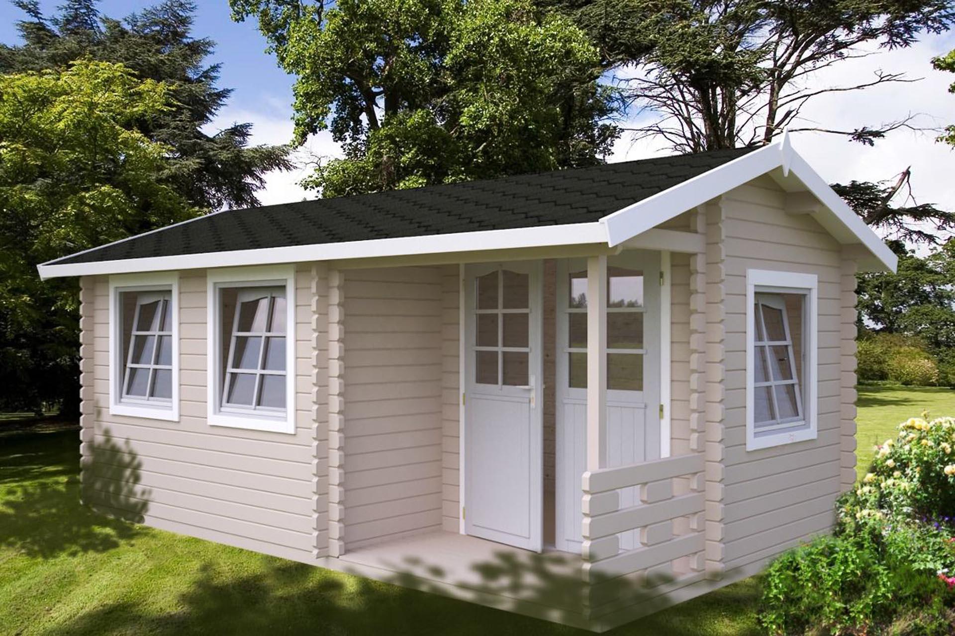 S lund susanne 12 4m2 et elegant hus til kolonihave du for Casas de madera jardin baratas