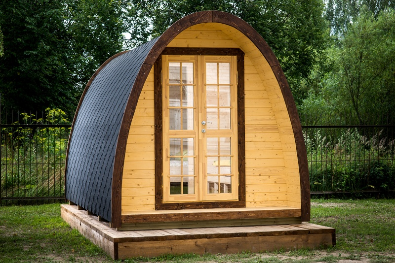 9 6 m2 camping hytte s lund huse for Garden offices for sale scotland