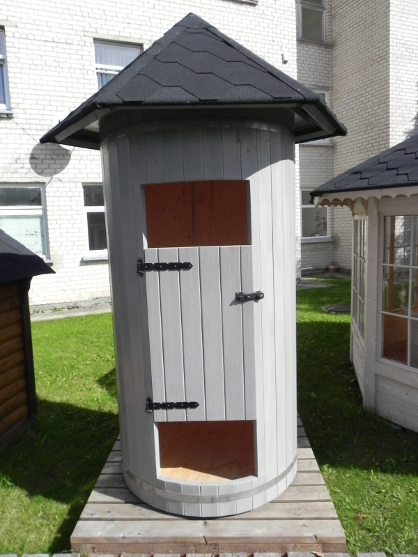 Bruser kabine   sølund huse