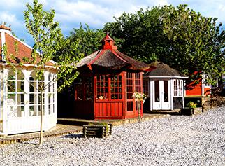 Sølund Huse fysisk udstilling på overby skovvej 3 i hovedgård