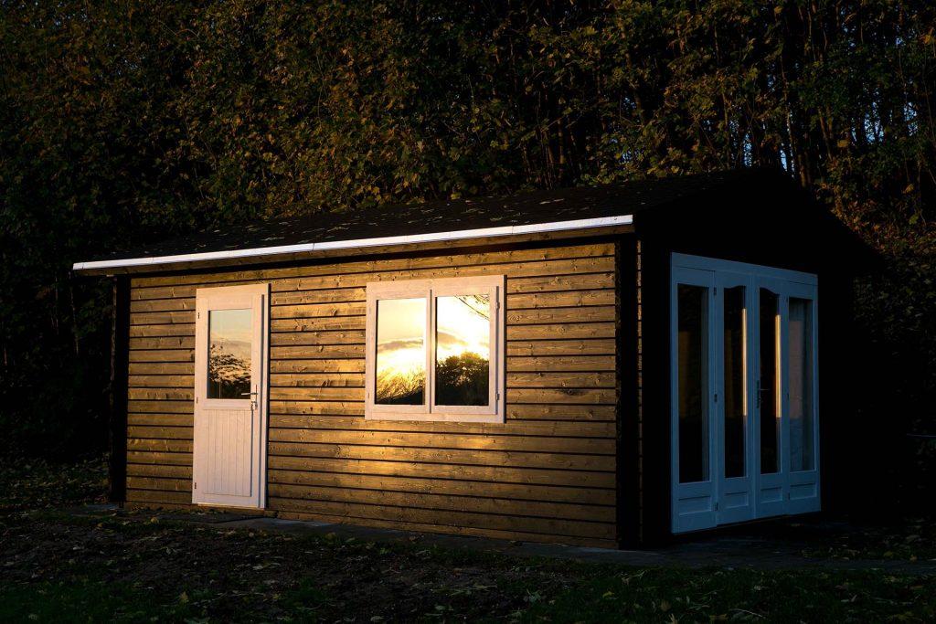 anneks byg selv fra Sølund Huse færdig bygget