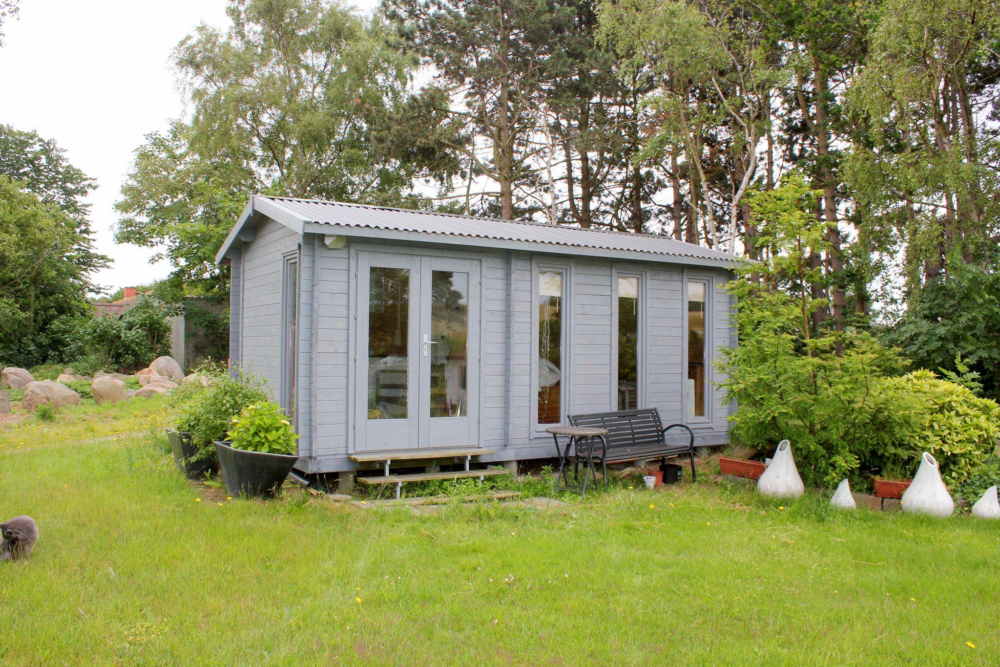 Bjækehytte Nicole billedet indsendt af kunde findes på www.sølundhuse.dk