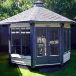 Henriette havepavillon i træ find dit havepavillon tilbud hos www.sølundhuse.dk