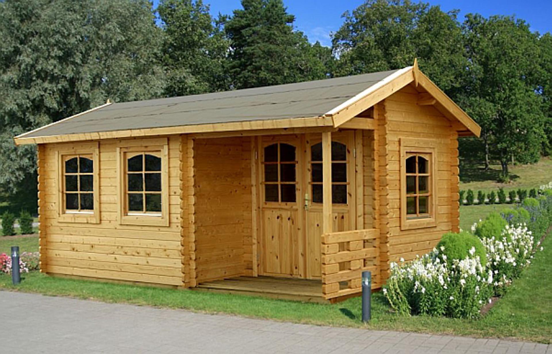 s lund susanne 12 4m2 et elegant hus til kolonihave du kan samle selv. Black Bedroom Furniture Sets. Home Design Ideas