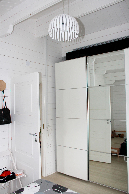 www.solundhuse.dk træhus billede fra værelse i annelise anneks på 47,3m2