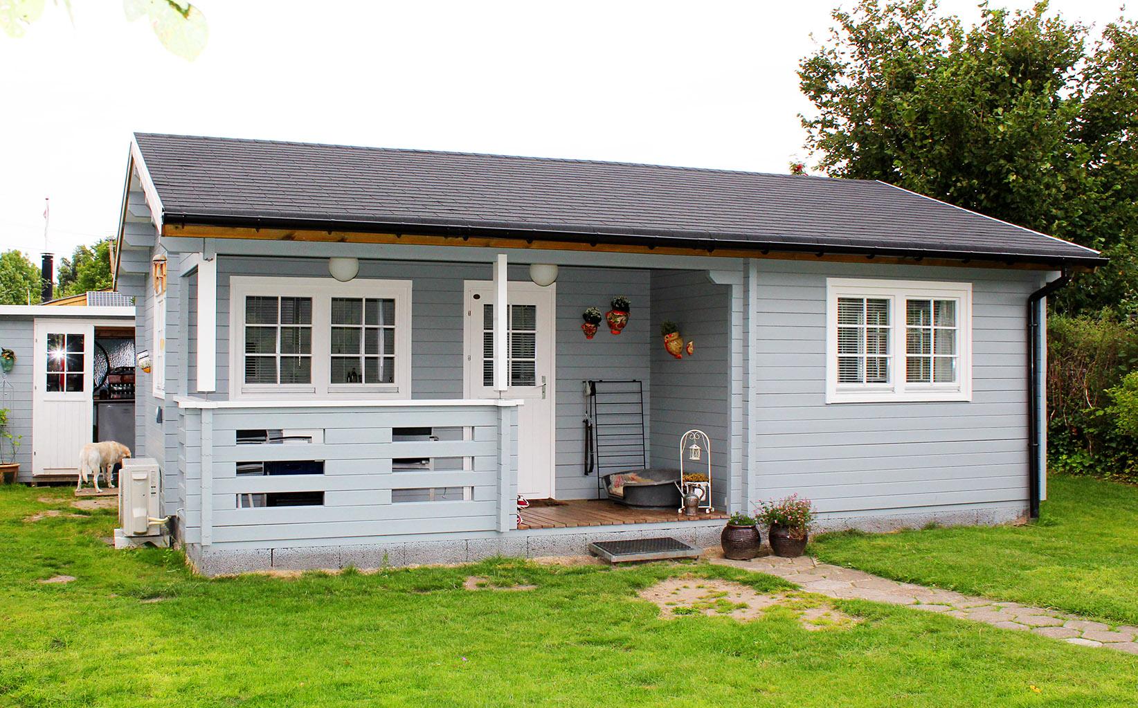 Annelise et billigt kolonihavehus fra sølundhuse.dk 43,7 m2 indsendt af kunde fra Viby