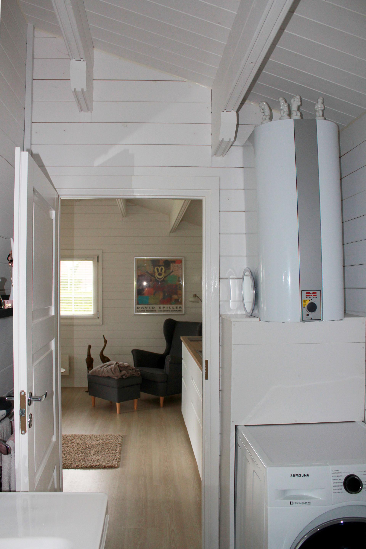 Anne lise havehus indsendt af kunde fra viby huset er i 70mm tømmer og 43,7m2