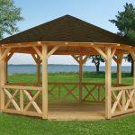 Smukt kvalitets tepavillon fra solundhuse.dk se alle vores åbne pavilloner
