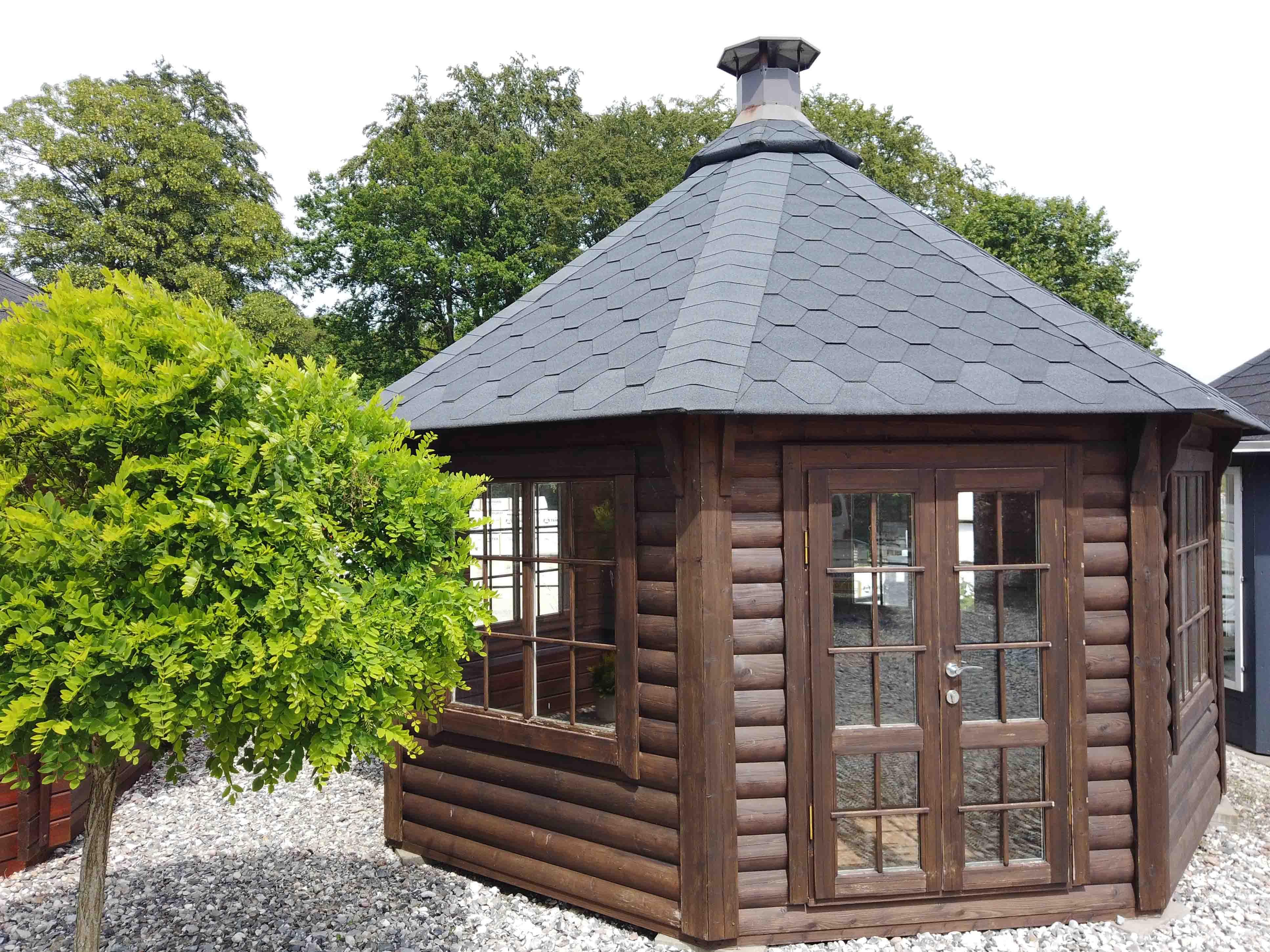 Grillhytte til salg hos Sølund Huse