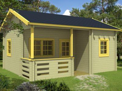 Mega Sølund Huse: havehus byg selv   leveres som samlesæt til billige EJ24
