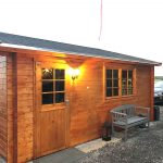 garage i træ fra solundhuse.dk