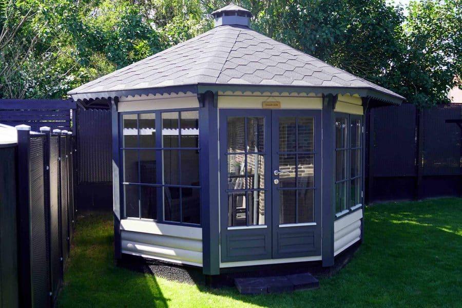 havepavillon i træ