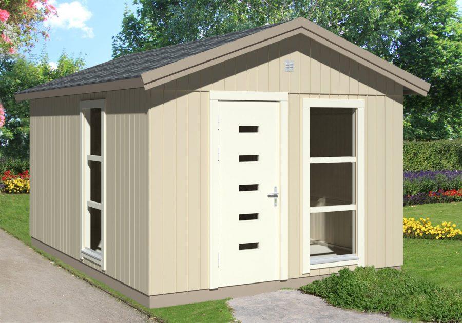 dette tanja byg selv havehus sælges i hele elementer og lige til at byg selv fra www.sølundhuse.dk