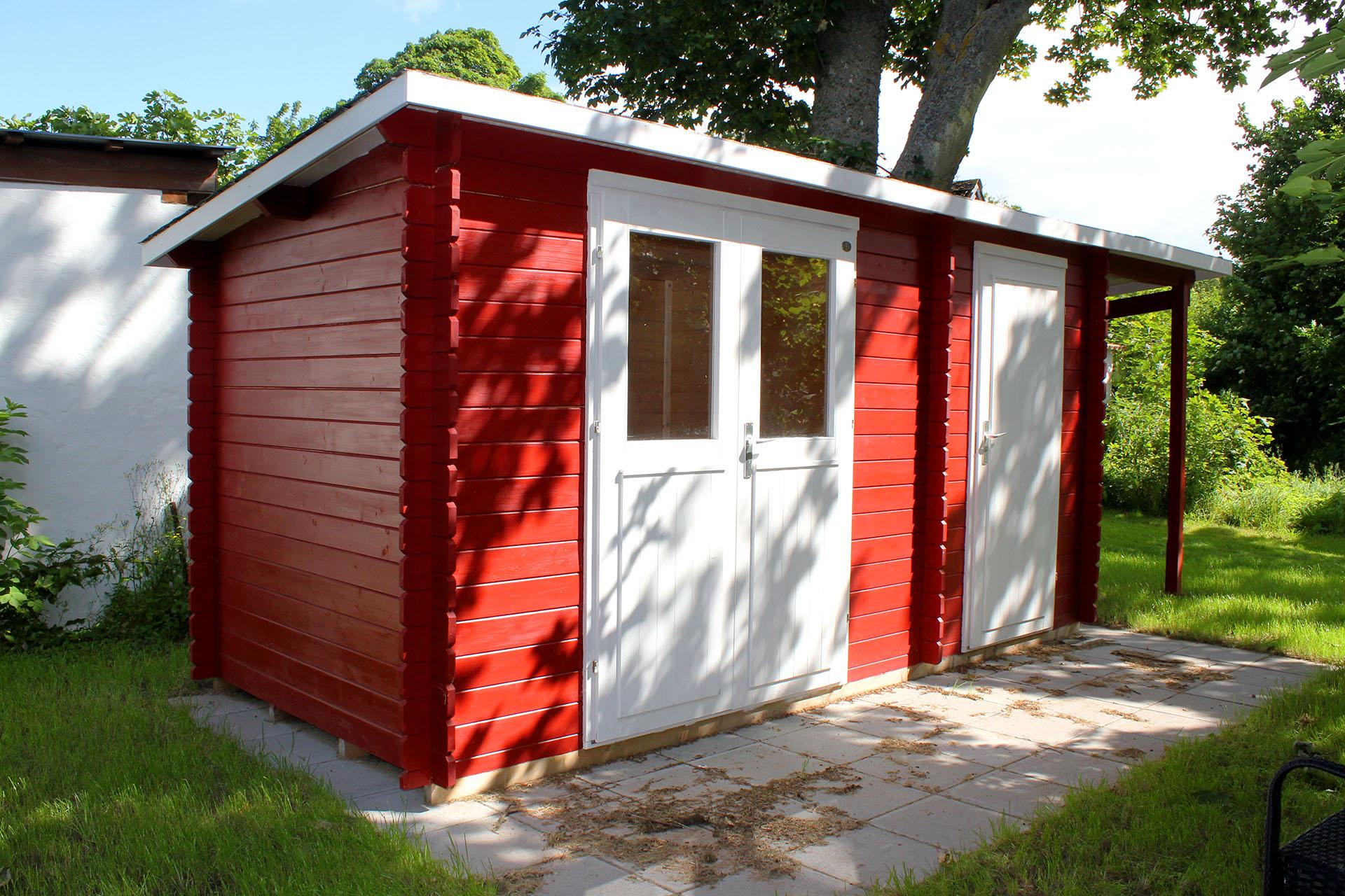 Mary 6 med halvtag fra www.solundhuse.dk billedet er indsendt af en kunde fra Tunø