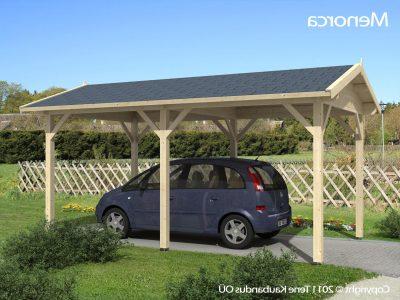 billig carport i træ