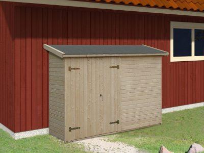 Fantastisk Sølund Huse: Alt i Redskabshuse i træ, køb et redskabskur billigt HJ22