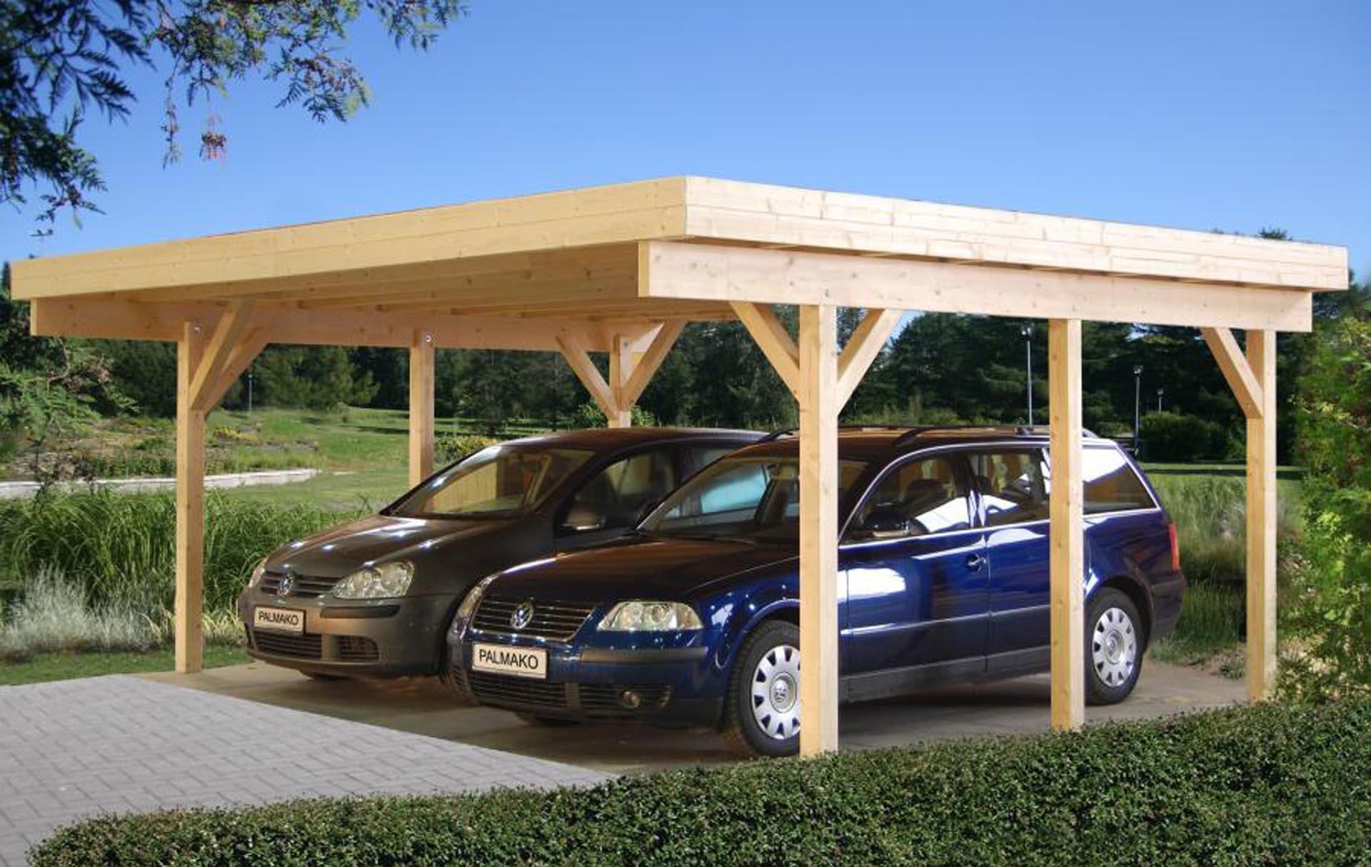 dobbelt carport til 2 biler gratis levering af carporte