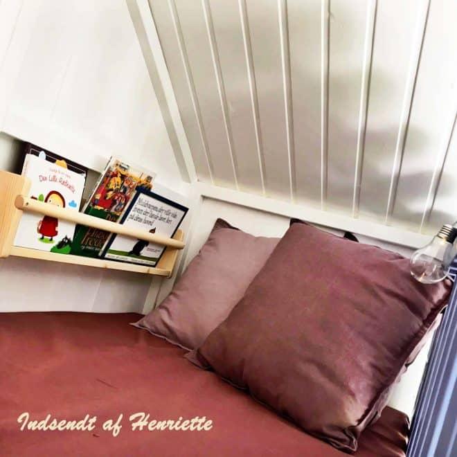 Billede af hemsen på et legehus fra www.sølundhuse.dk