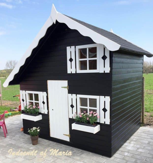 Legehus lille marie - Indsendt af vores kunde Maria findes på solundhuse.dk