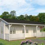 køb anneks til kolonihaven som dette med terrasse og flere rum fra sølundhuse.dk