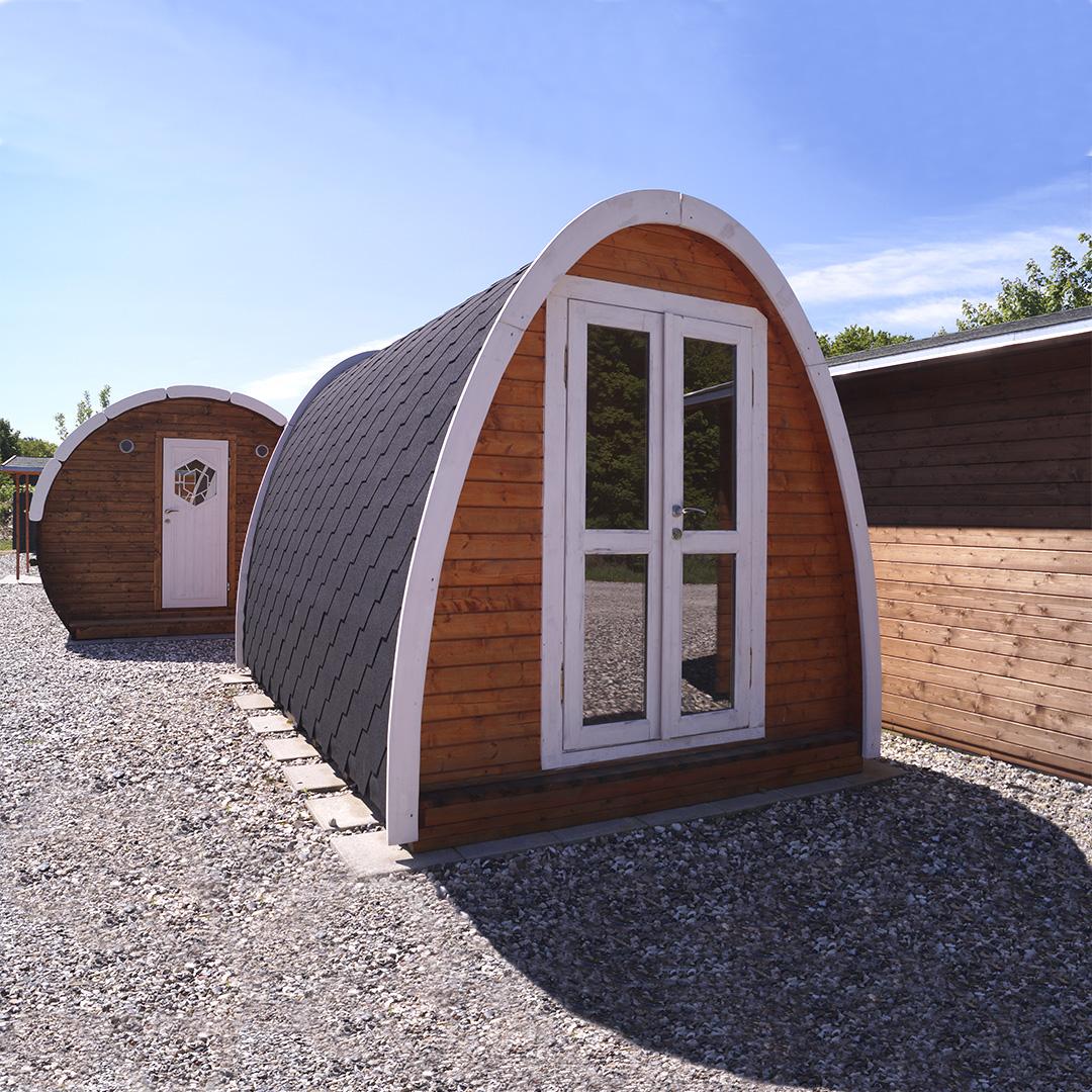Få din egen sauna i haven hos Sølundhuse.dk lige til at byg selv