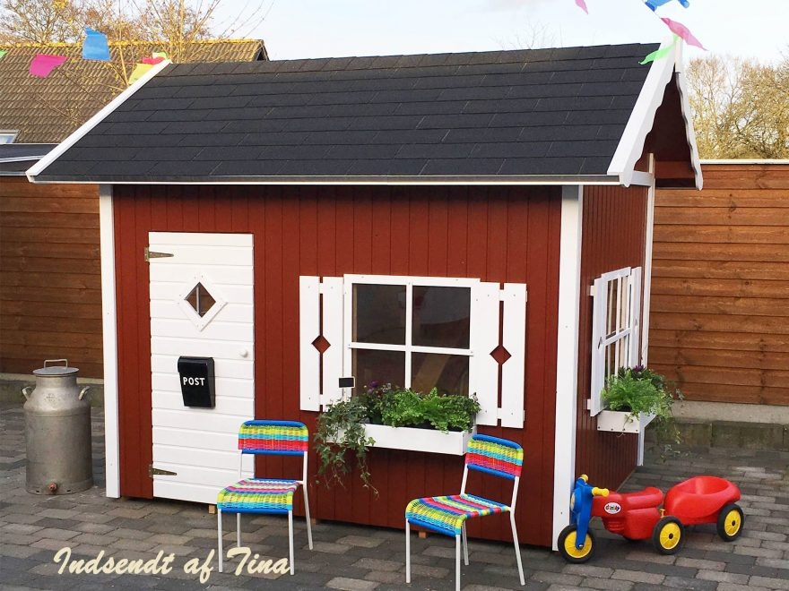 Lille amanda Legehus fra Sølund huse
