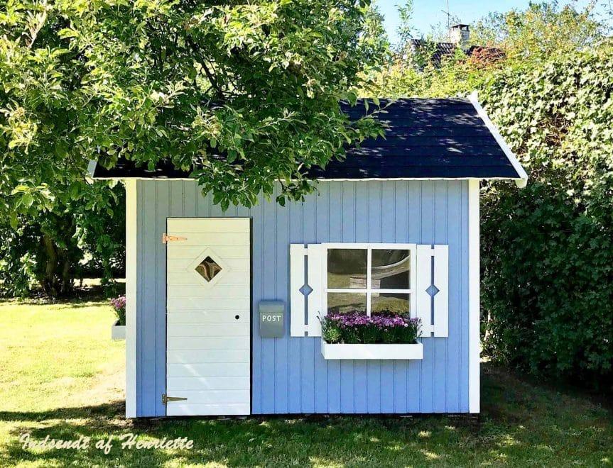 Sølund huse - amanda legehus i træ med hems indsendt af kunde