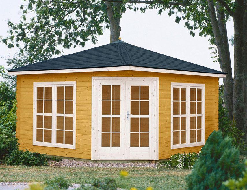 solid og lys hjørnepavillon fra solundhuse.dk