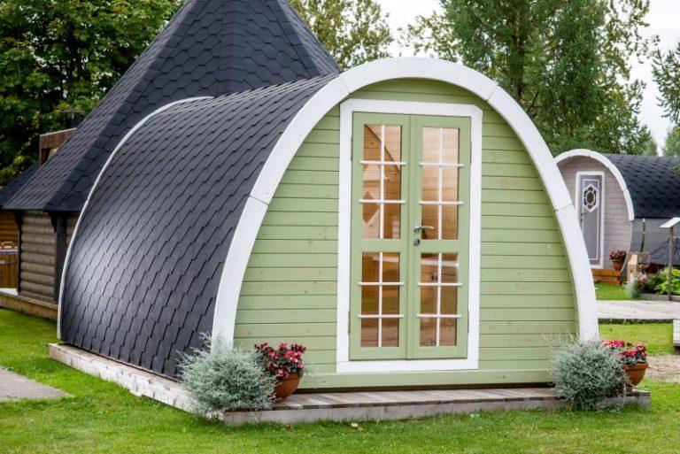 Alle nye Camping hytte isoleret fra Sølund Huse - Se tilbud og priser BJ07