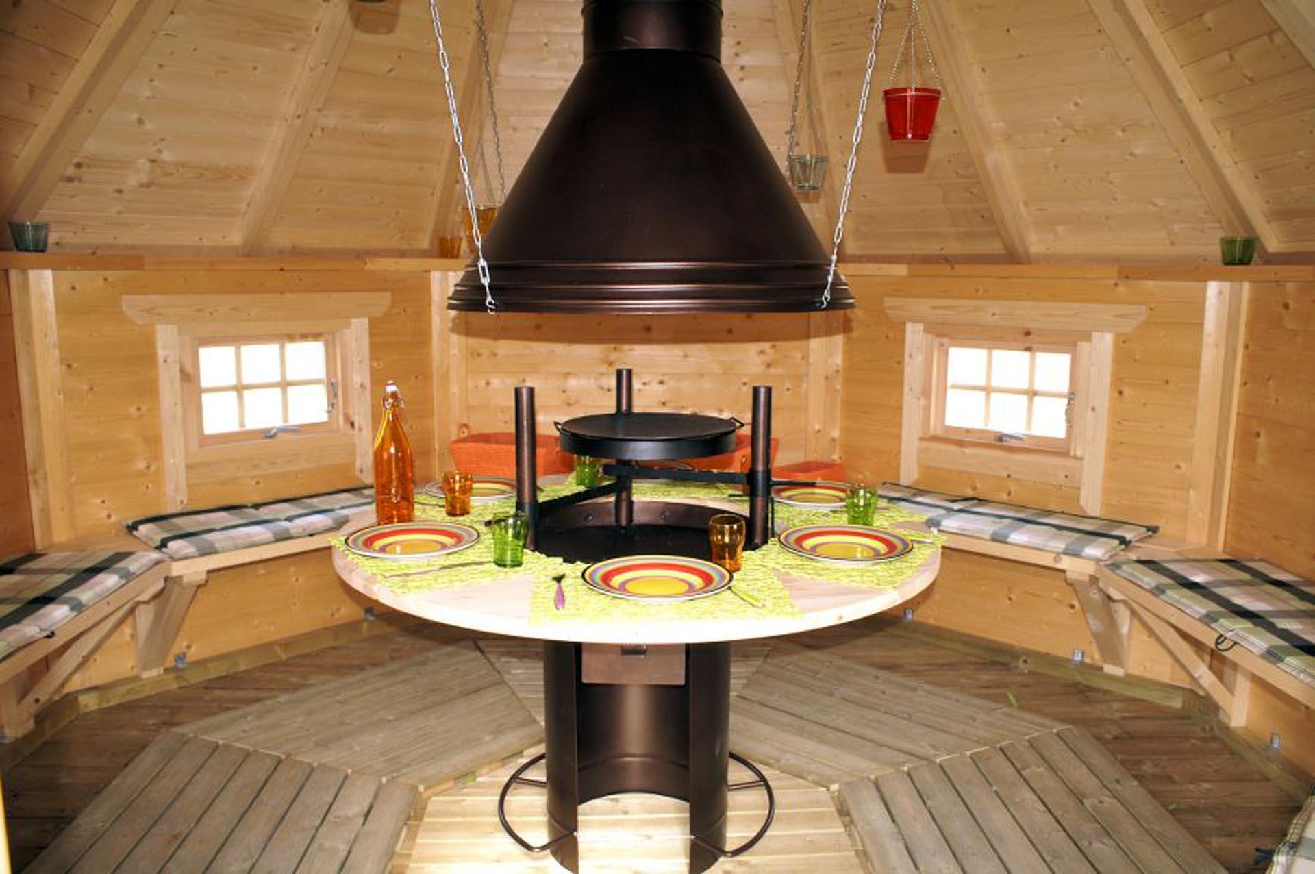11 4 m2 grill hytte 2 - Party gartenhaus ...