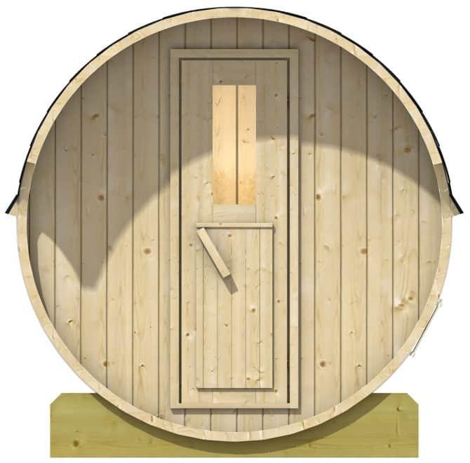 Sauna fra Sølund huse