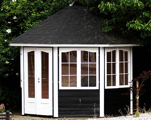 byg selv pavillon fra solundhuse.dk