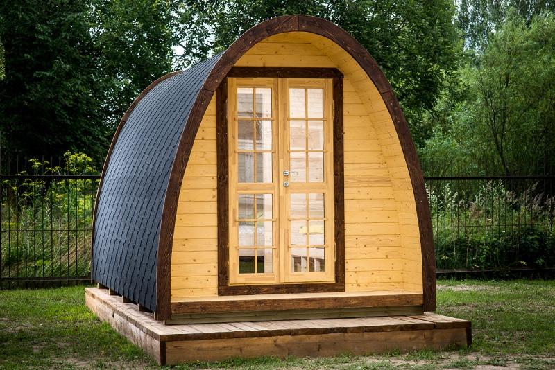 køb campinghytte fra Sølund Huse