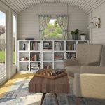 Husvognen Rikke 8,6 m2 indvendigt billede fra Sølund Huse