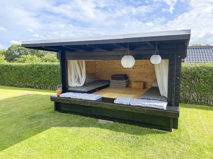 stort og billigt shelter til haven fra sølunndhuse.dk