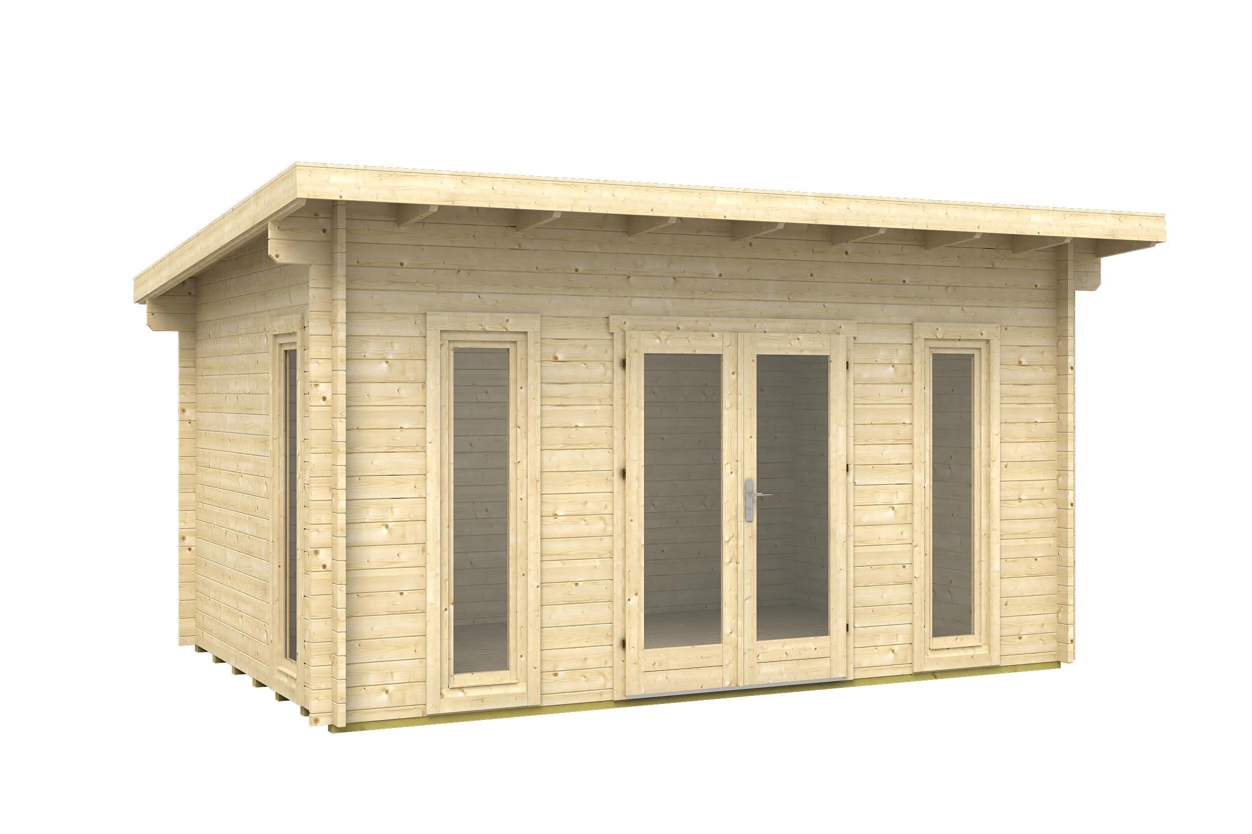træ hytte
