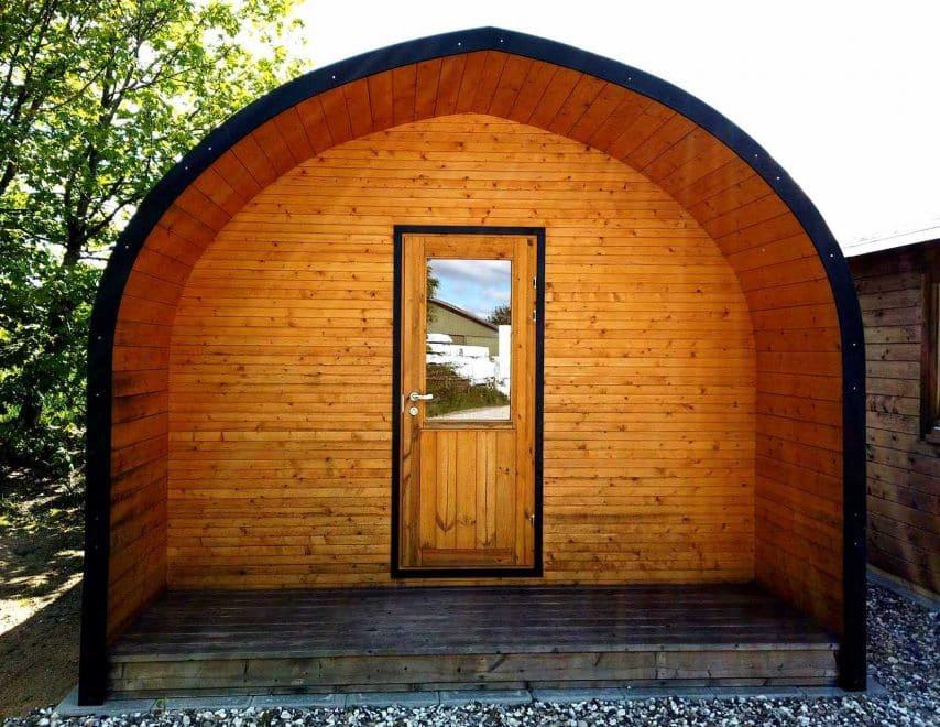 bigpod isoleret campinghytte