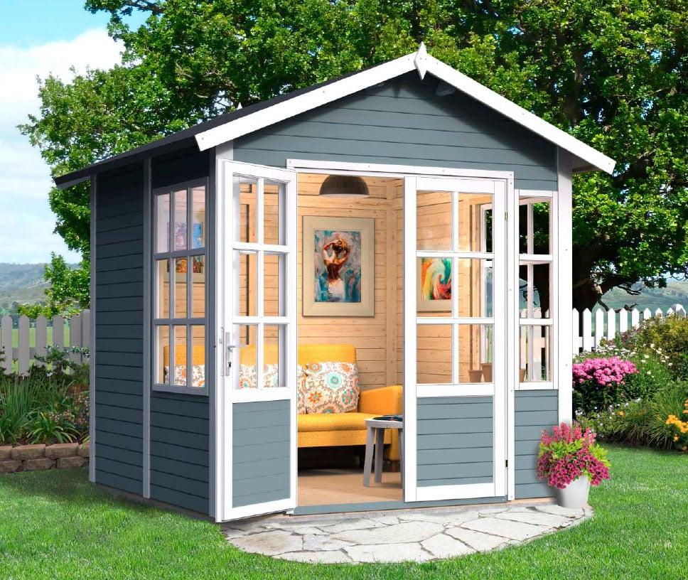 Det lille havehus eller tehus fra www.solundhuse.dk