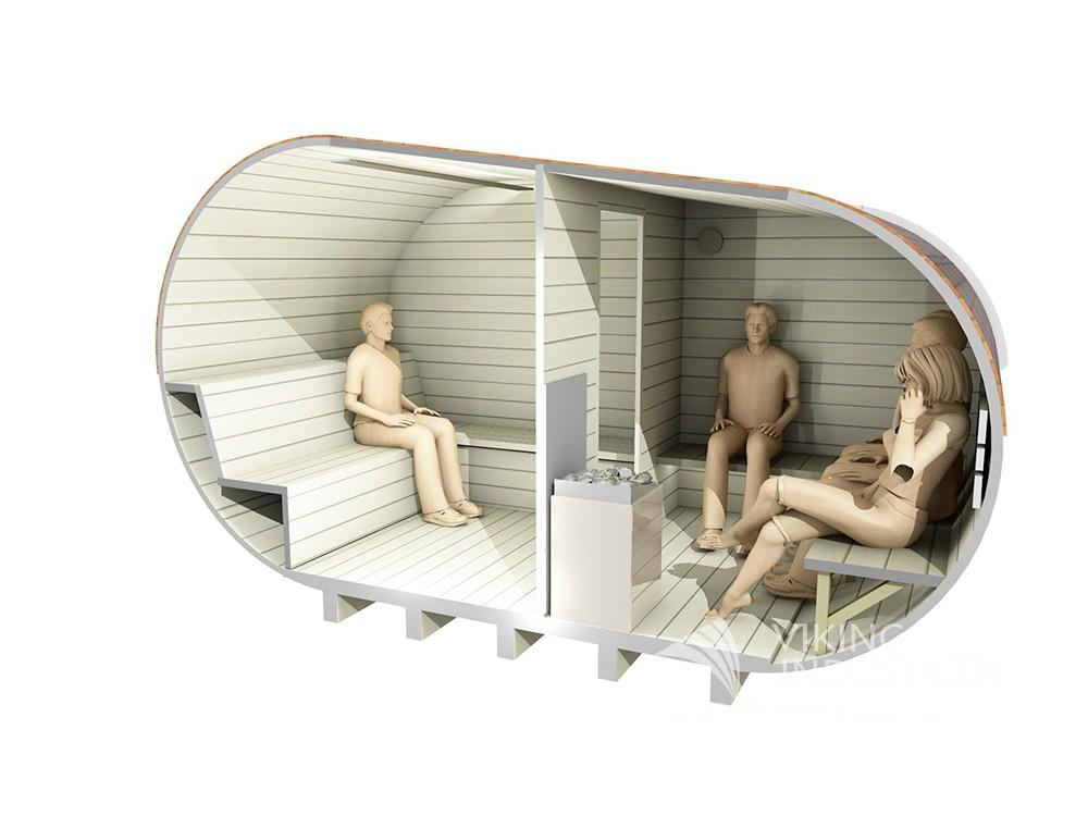 Sauna hytte fra sølundhuse.dk