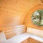 smuk sauna med elovn fra sølundhuse.dk