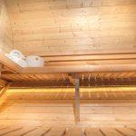 sølund sauna med lys