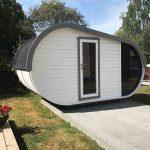 luksus sauna pod fra www.sølundhuse.dk