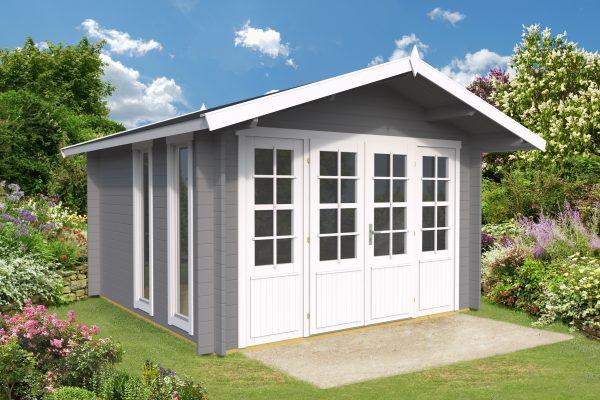 Køb bjælkehytte hos sølundhuse.dk denne bjælkehytte er i hele 1,9 m2 og leveres som komplet samlesæt