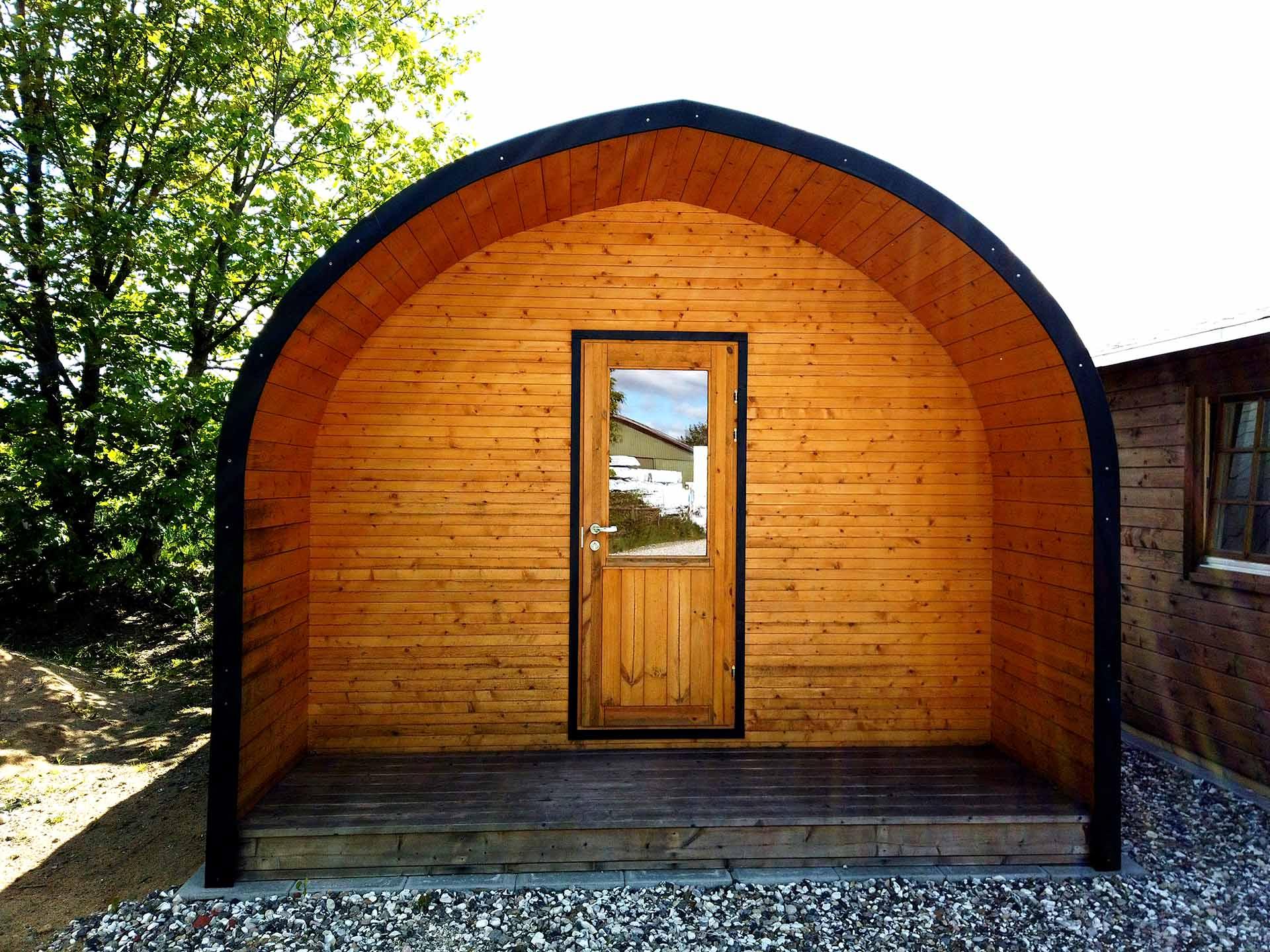 Campinghytter fra www.sølundhuse.dk isoleret hytte til grønland eller campingpladser