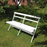 Bænk til havemøbelsæt fra www.sølundhuse.dk