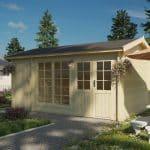 NYHED havehus med redskabsrum i dansk design fåes kun hos www.sølundhuse.dk