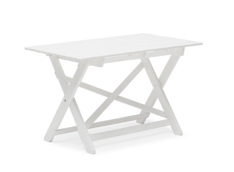 havemøbel havebord fra www.sølundhuse.dk havebordet er i nordisk design og svensk produceret. Leveres færdig malet