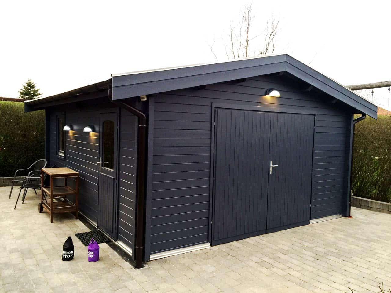køb garage med fri levering