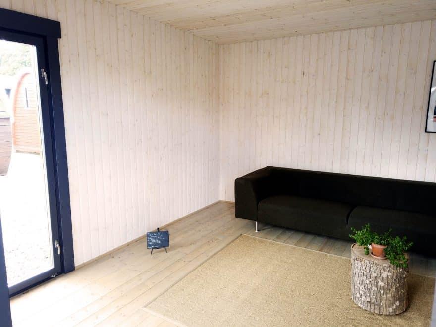 Isoleret hytte fra Sølund Huse solundhuse.dk
